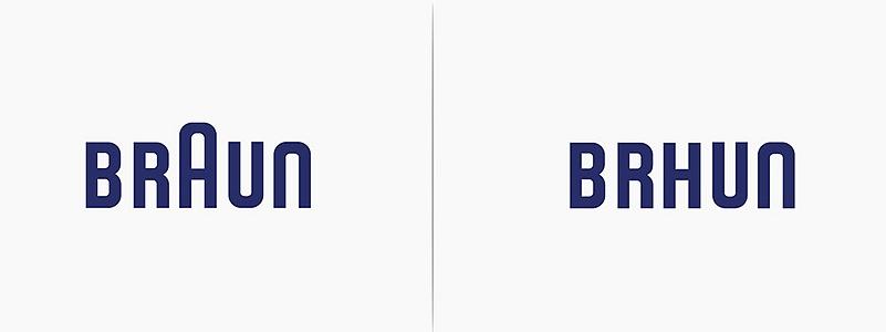 Logo Braun revisité