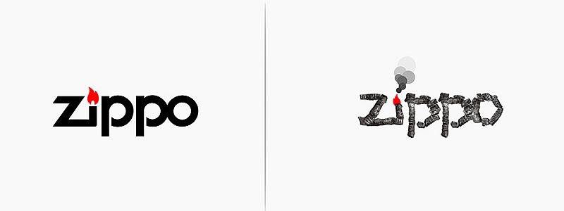 logo Zippo revisité